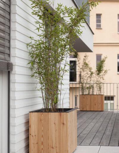 boo truhlíky vhodné na terasy a balkony