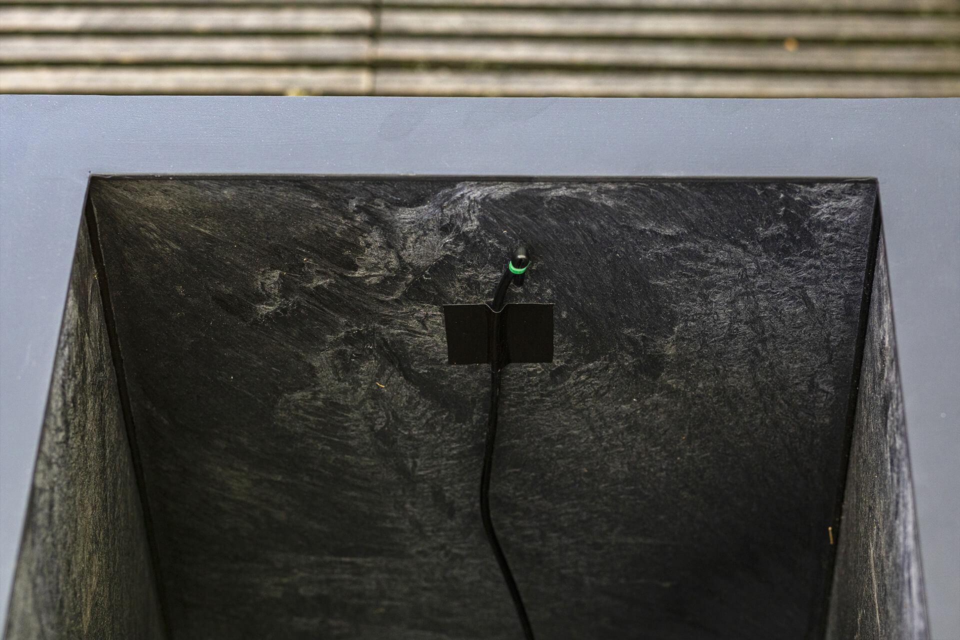 boo truhlík a příprava na automatickou závlahu